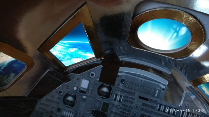 Un pallone sonda lancerà nello spazio un modello in scala della capsula Columbia
