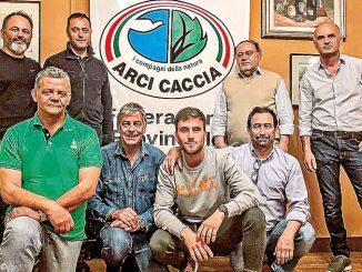 Gianfranco Capoccia è stato nominato presidente provinciale di Arcicaccia