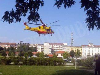 Elitrasportato in codice rosso uomo di 36 anni per un incidente agricolo