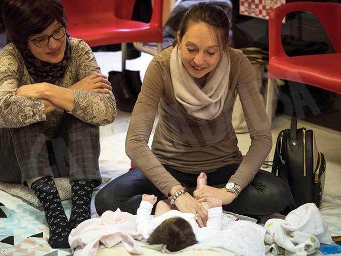 massaggio infantile 1