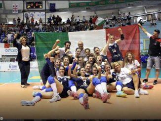 La Nazionale di pallavolo sorde (con sei albesi) è campione d'Europa