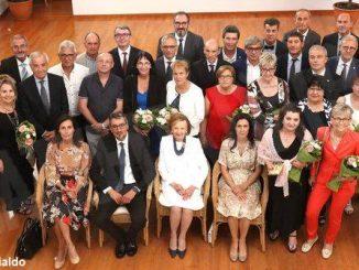 Il discorso di Giovanni Ferrero alla premiazione degli anziani