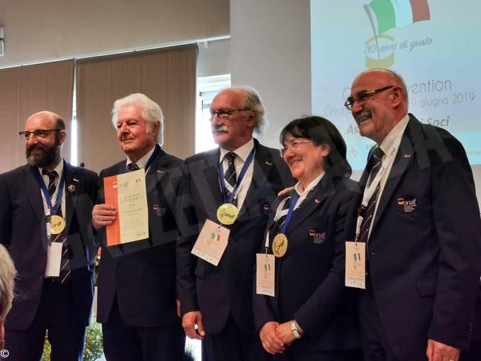 L'Onaf ha celebrato i 30 anni al castello di Grinzane Cavour