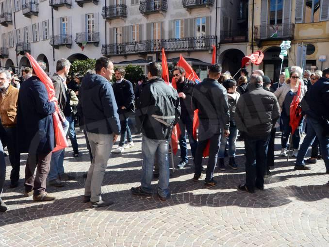 protesta Giordano Alba