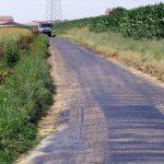 Ceresole: in corso l'asfaltatura di alcune strade comunali