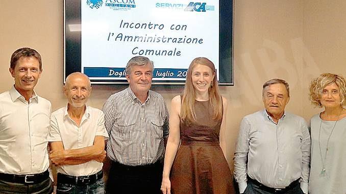 Dogliani: il direttivo dell'Ascom ha incontrato la nuova Amministrazione