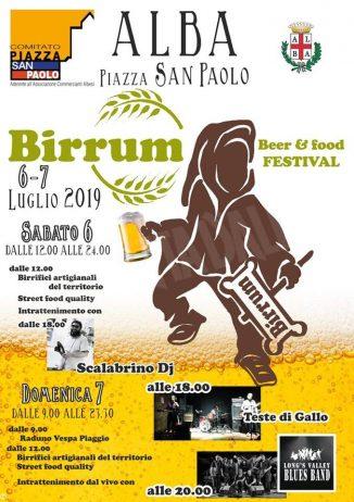 Domani in piazza San Paolo arriva Birrum, festival della birra e della Vespa