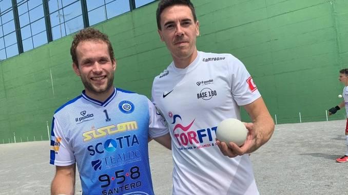 Campagno, Max Vacchetto e Gatto in testa alla classifica di serie A di pallapugno