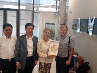 Accolta ad Alba una delegazione della città cinese di Yangzhou