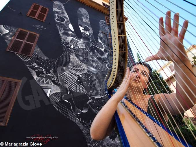 L'arpa jazz di Marcella Carboni a Pocapaglia col Roero Music Fest