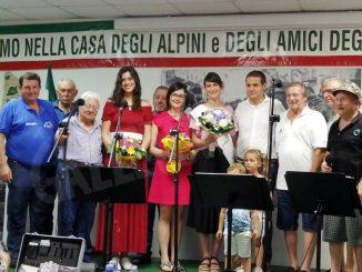 Beatrice Panero è la Miss del gruppo Alpini di Guarene