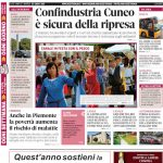 La copertina di Gazzetta d'Alba in edicola martedì 23 luglio