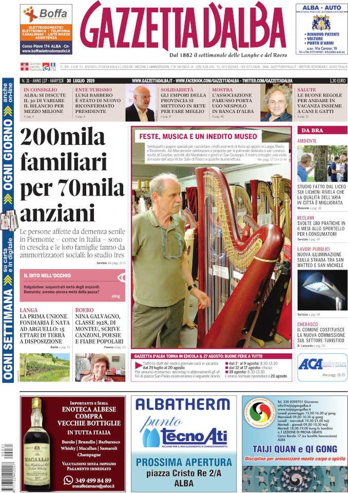 Prima_pagina_Gazzetta_Alba_31_19