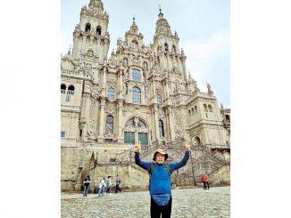 Walter Canale al sesto Cammino di Santiago