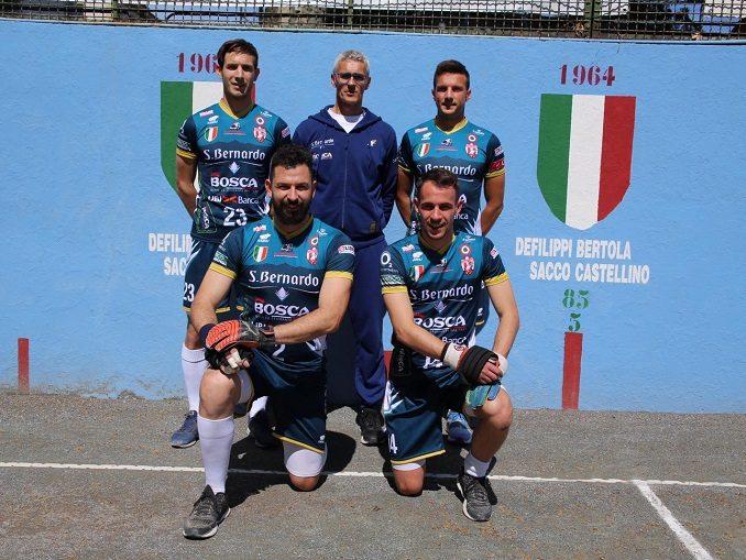 Pallapugno: Chiusa la regular season della Serie A, Cuneo ai play off.