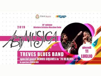 Astimusica, questa sera c'è la Treves blues band