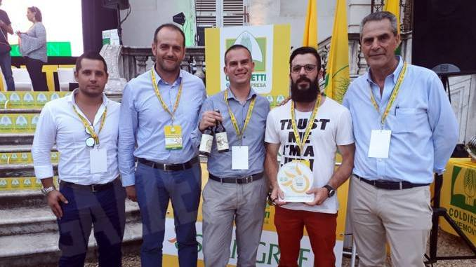 L'Oscar green Coldiretti all'albese Massimo Prandi per il suo birrificio contadino