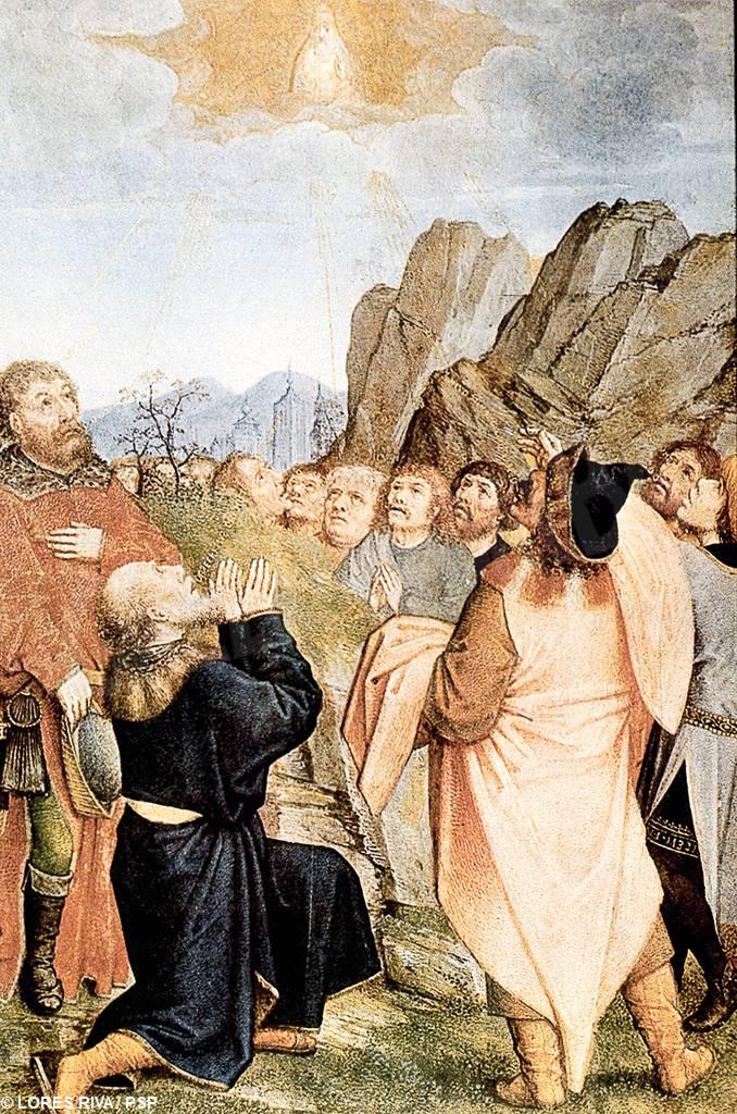 gesu con discepoli