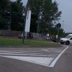 Alba: incidente in corso Torino tra una moto e un furgoncino, lunghe code in uscita dalla città
