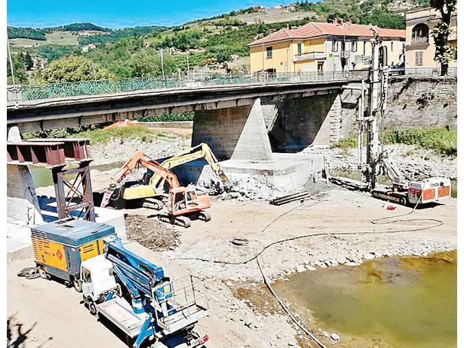 lavori ponte cortemilia