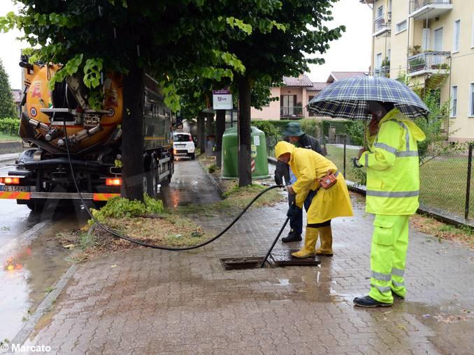 pioggia Corso Cortemilia 4