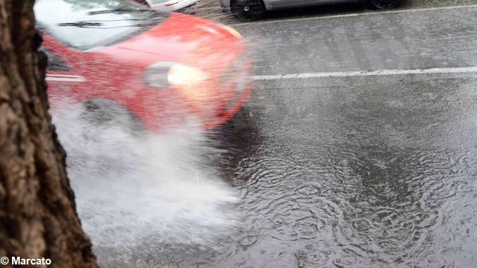 Più di 50 mm di pioggia in poche ore, allagamenti ad Alba e nell'albese 2