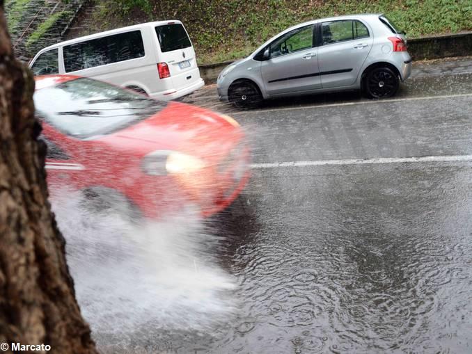 pioggia corso Coppino