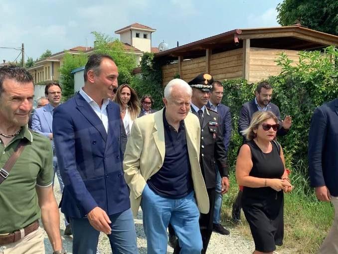Cirio e la Giunta visitano villa confiscata alla mafia nell'anniversario dell'omicidio di Borsellino 1