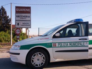 I vigili di Guarene ritirano tre patenti per superamento del doppio del limite di velocità