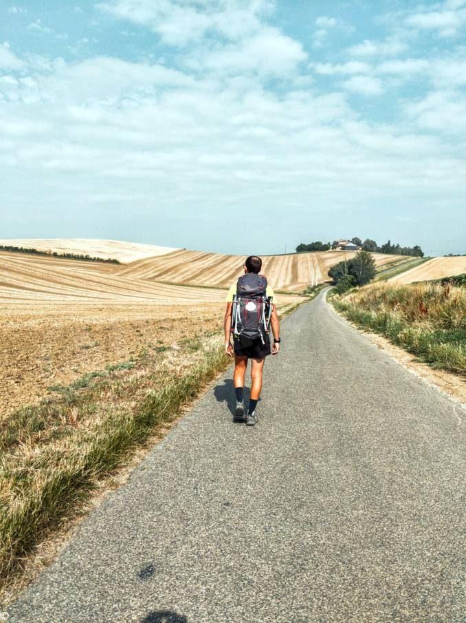 Cammino di Santiago: Andrea Barra verso la Spagna