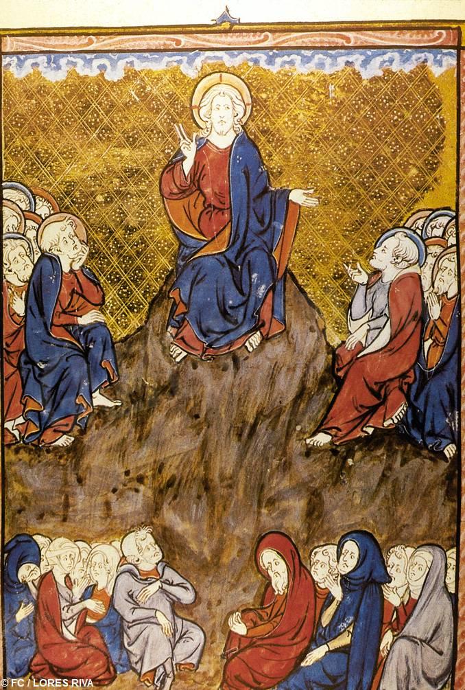 Gesù discorso montagna