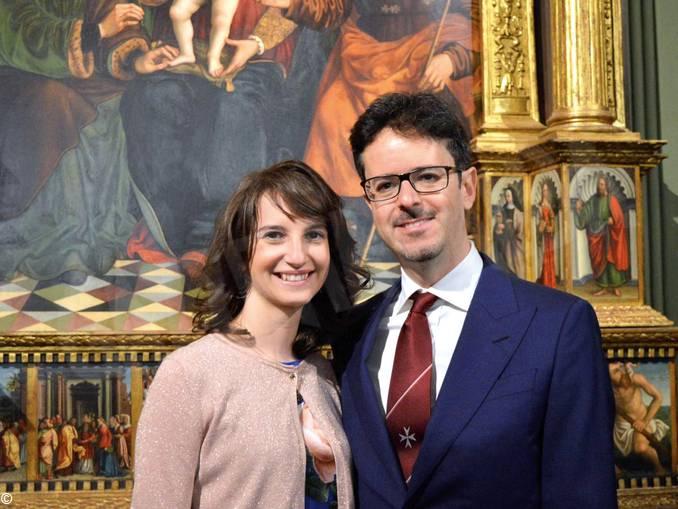 Giorgio Montersino e moglie