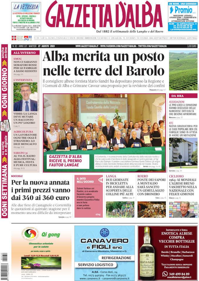 Prima_pagina_Gazzetta_Alba_32_19