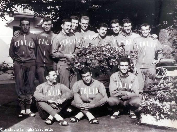 Vaschetto e Gimondi in nazionale 1964