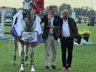Equitazione: Spinelli vince in Slovacchia