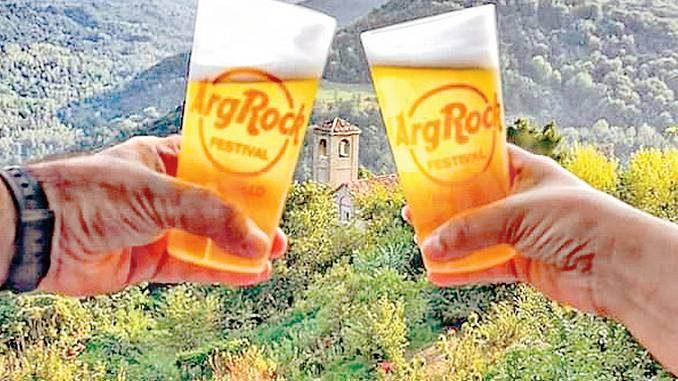 Bicchieri ecologici in plastica dura per celebrare i vent'anni di Argrock