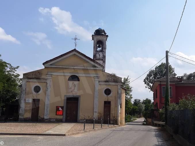 La chiesa di Ca' del bosco, un esempio di patrimonio religioso in rovina