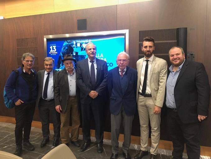 """Sala incontri della Fondazione Crc gremita per la prima di """"Dalla Malora all'Unesco"""""""
