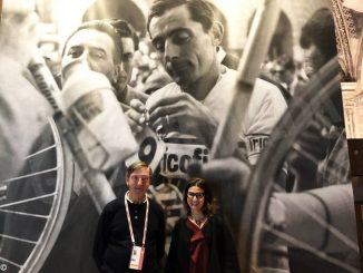 A Cuneo Beppe Conti, Luciana Rota e Faustino Coppi raccontano il Campionissimo