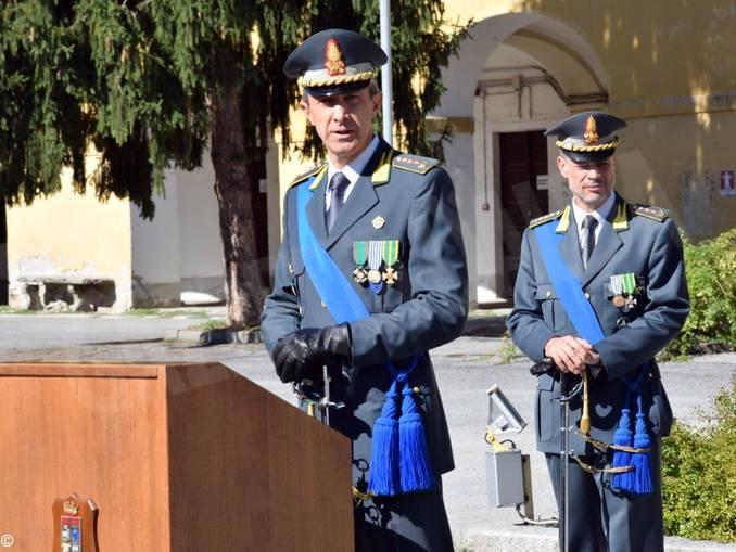 Finanza colonnello Luca Albertario e Massimiliano Pucciarelli
