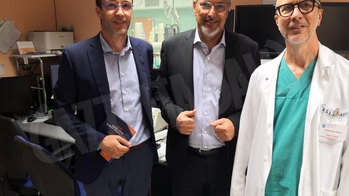 L'assessore regionale Icardi in visita all'ospedale di Asti