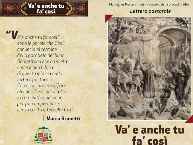 Domani, venerdì 20 settembre, il Vescovo Brunetti presenta alla Diocesi la lettera pastorale sulla carità
