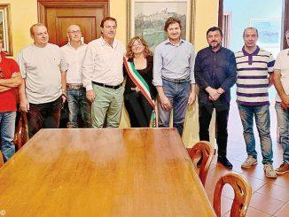 Il console macedone ricevuto in Municipio a Neive