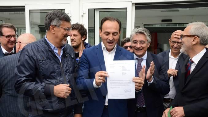 Nuovo ospedale Alba-Bra: consegnata la dichiarazione di fine lavori 1