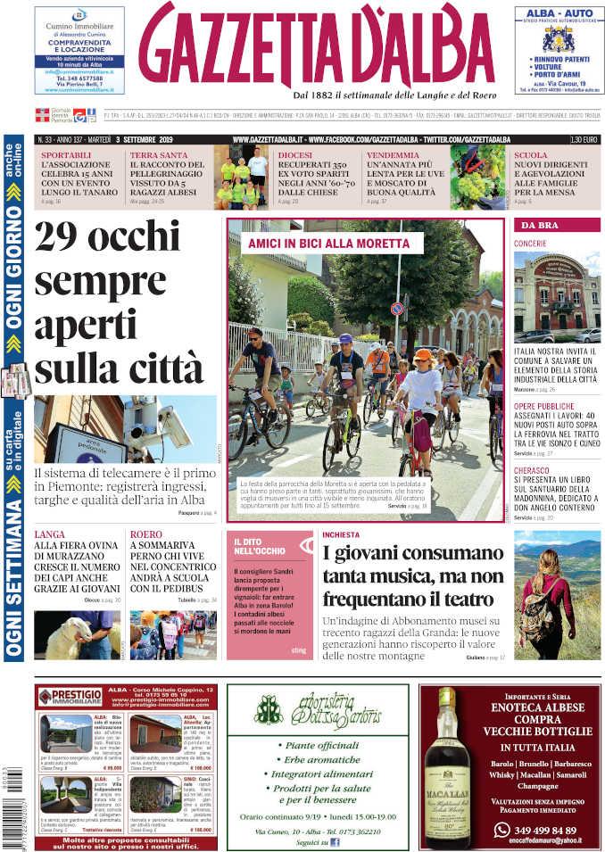 Prima_pagina_Gazzetta_Alba_33_19
