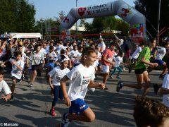 Alba: grande partecipazione a Corri sotto le torri Alba nel cuore 1