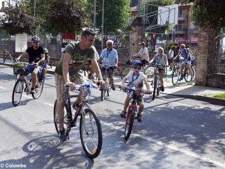Amici in bici: la pedalata apre la festa alla Moretta 8