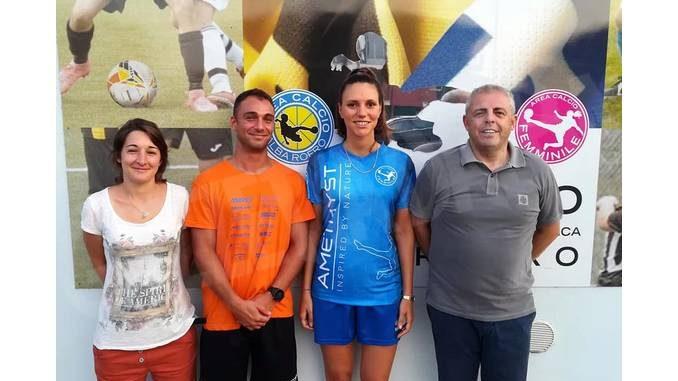 L'Area calcio Alba Roero ha tesserato Lorenza Casetta