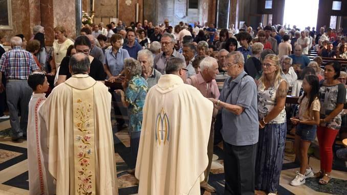 Al santuario della Madonna dei fiori di Bra il miracolo si ripete 3
