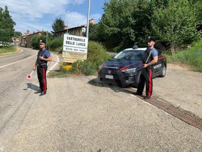 carabinieri castagnole lanze